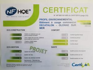 certificat 2